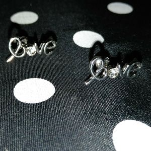 "Jewelry - ""Love"" earrings"
